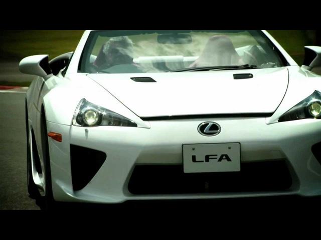 Lexus LFA Spyder -Jay Leno's Garage