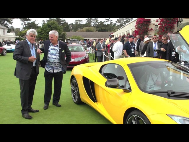 Pebble Beach 2012: McLaren MP4-12C Spyder and 12C Can-Am Edition - Jay Leno's Garage