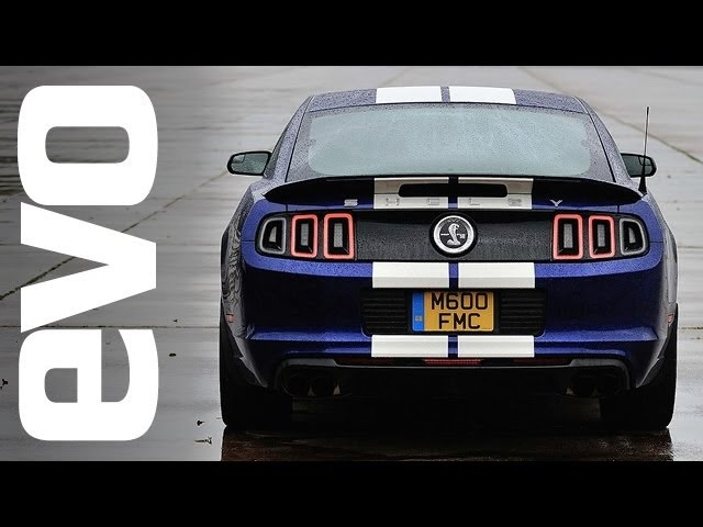 Shelby GT500 Mustang v Mercedes C63 AMG Coupe | evo DRAG RACE