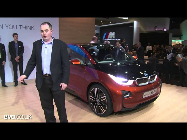 <em>BMW</em> i3 Coupe concept at the LA show - evo magazine
