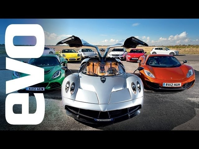 evo Car of the Year 2012 - feat. <em>Pagani</em> Huayra v McLaren and more. In association with Michelin.
