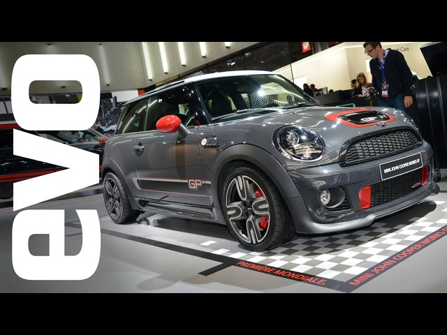 Mini JCW GP & Mini Paceman: Paris 2012 | evo MOTOR SHOWS