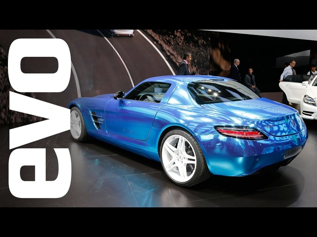 Mercedes SLS AMG Electric Drive: Paris 2012 | evo MOTOR SHOW