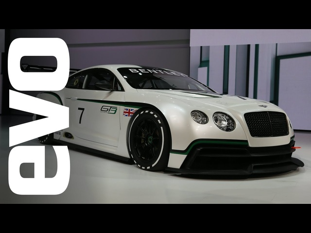 <em>Bentley</em> Continental GT3 concept: Paris 2012 | evo MOTOR SHOWS