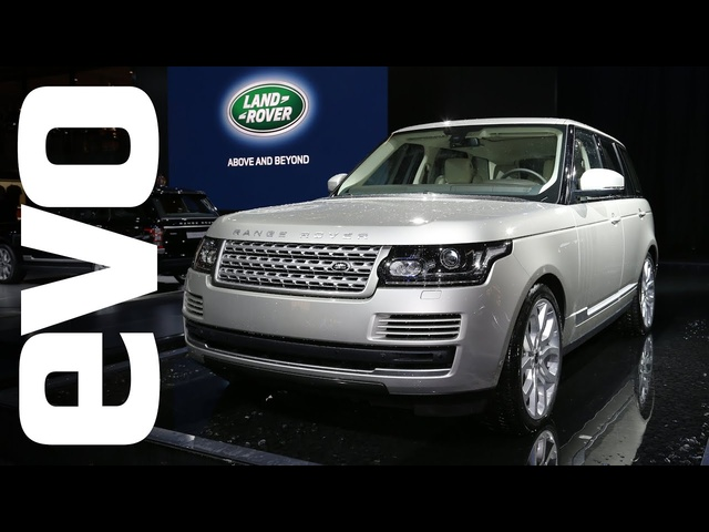 2013 Range Rover: Paris 2012 | evo MOTOR SHOWS