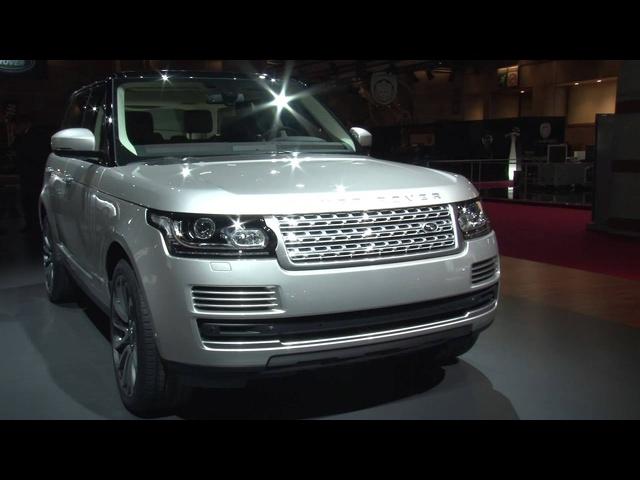 Range <em>Rover</em> -Paris Motor Show 2012 -XCAR