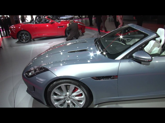 Jaguar F-Type - Paris Motor Show 2012 - XCAR