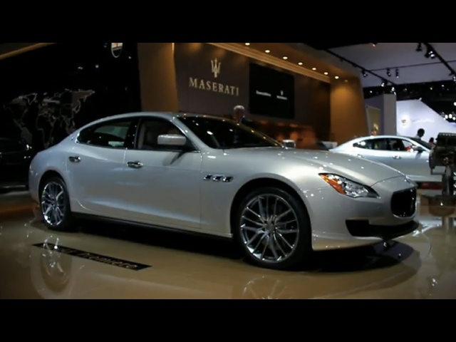 Maserati CEO Talks 2014 Maserati Quattroporte and More @ 2013 Detroit Auto Show - CAR and DRIVER