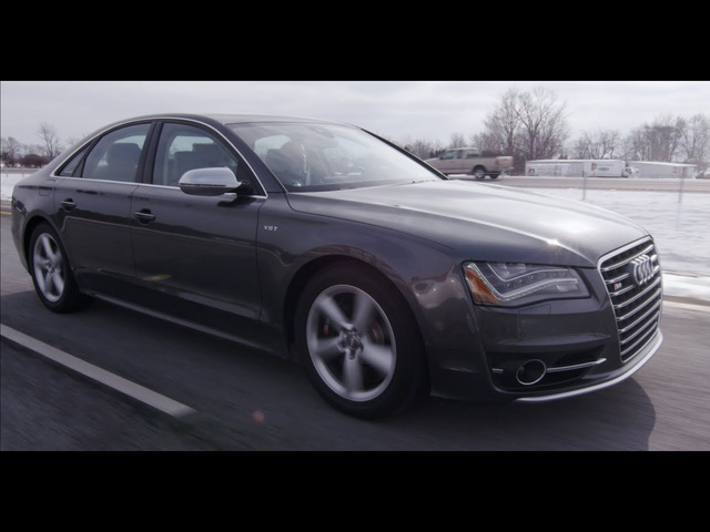 2013 <em>Audi</em> S8 - Review - CAR and DRIVER