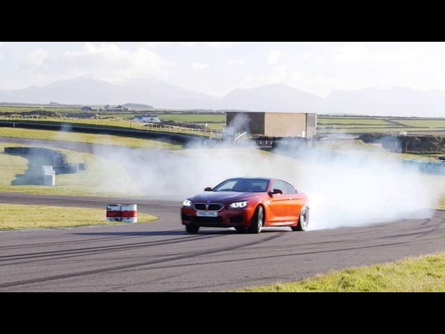 Drifting the 2013 <em>BMW</em> M5 and 2013 <em>BMW</em> M6 Coupe - CAR and DRIVER