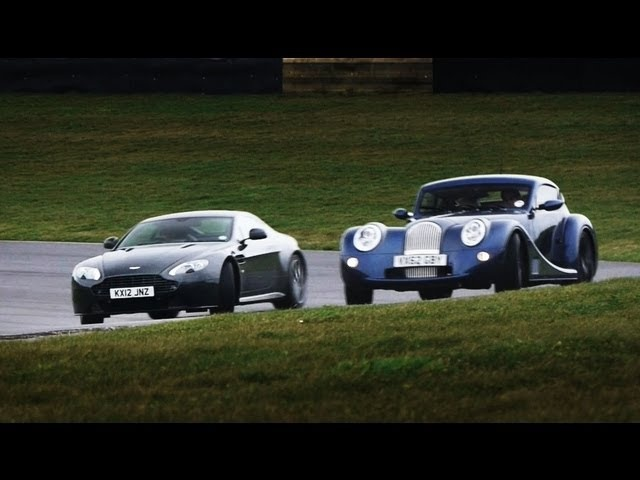 Showdown: Aston Martin V8 Vantage S vs. <em>Morgan</em> Aero Coupe - CAR and DRIVER