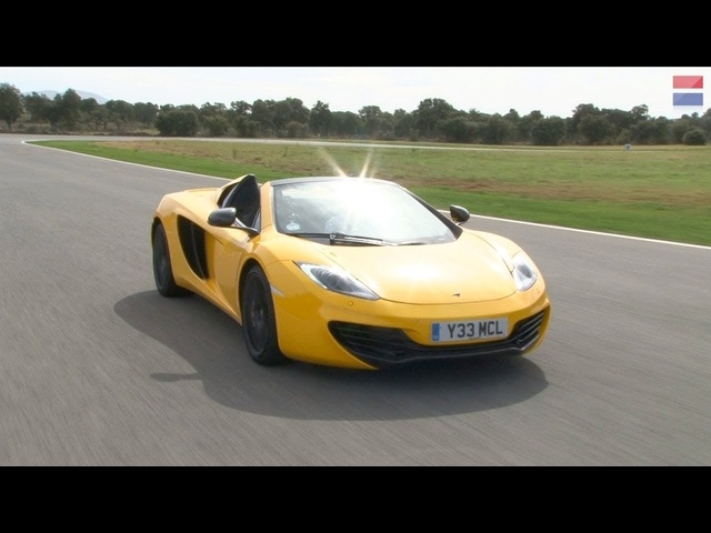 2013 <em>McLaren</em> MP4-12C Spider - First Drive Review - CAR and DRIVER