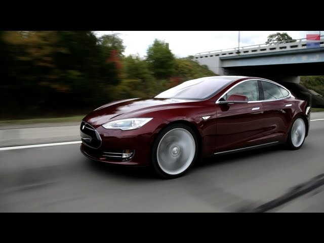 Car and Driver: Tested : 2013 <em>Tesla</em> Model S - Review - CAR and DRIVER