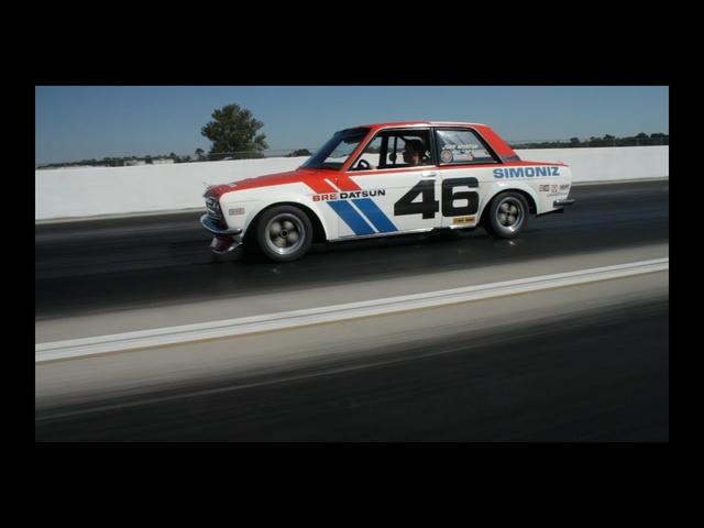 Vintage Datsun BRE 510 Race Car Driven