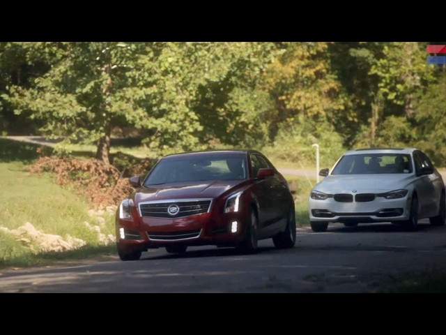 Showdown - 2013 Cadillac ATS 2.0T vs. 2013 BMW 328i - CAR and DRIVER