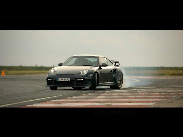 Drifting Nissan Juke-R & Porsche 911 GT2 RS - CAR and DRIVER