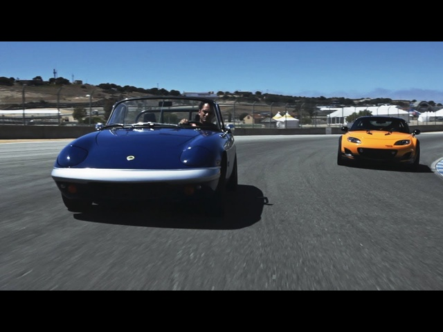 1967 Lotus Elan and <em>Mazda</em> MX-5 Super 20 Concept - CAR and DRIVER
