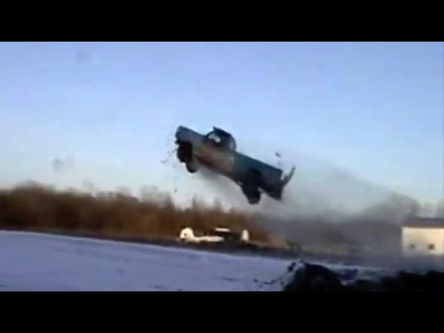 Rednecks Jump Trucks -CAR and DRIVER