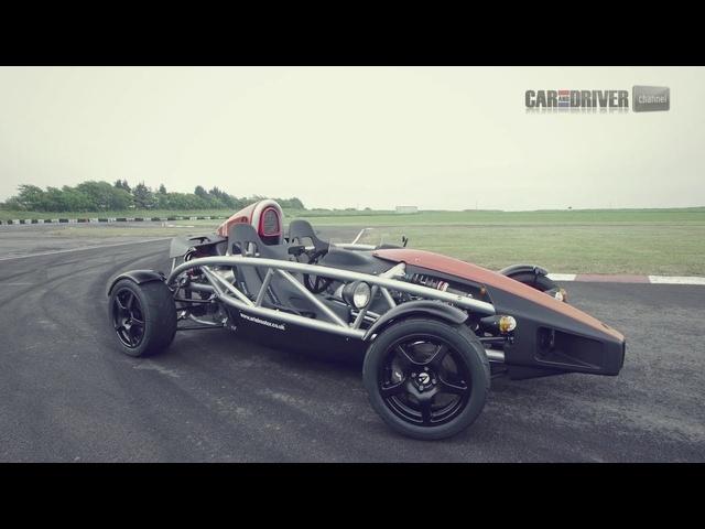 Ariel Atom 300 Driven -CAR and DRIVER