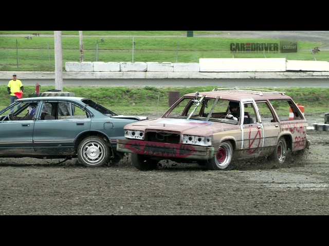 Extreme Demolition Derby (Part 2) - CAR and DRIVER