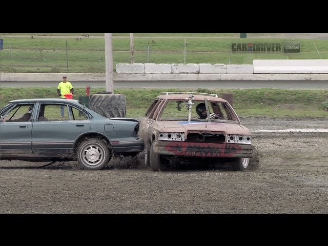 Extreme Demolition Derby (Part 1) - CAR and DRIVER