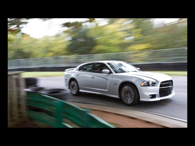 2012 <em>Dodge</em> Charger SRT8 - Lightning Lap 2012 - CAR and DRIVER