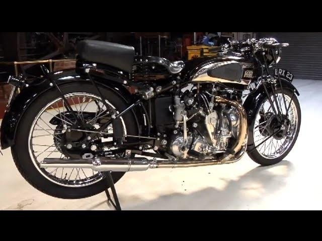 1939 Vincent HRD Series ARapide -Jay Leno's Garage