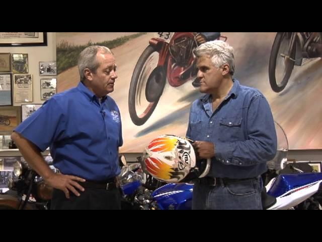 Arai Helmets -Jay Leno's Garage