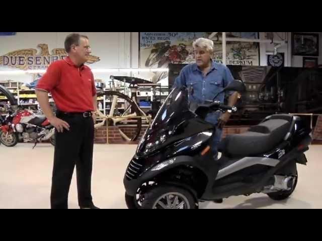 Piaggio MP3 250 -Jay Leno's Garage