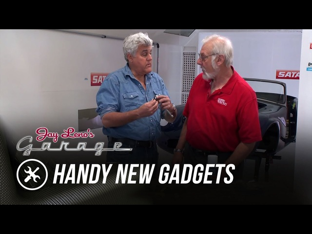 Skinned Knuckles: Handy New Gadgets - Jay Leno's Garage