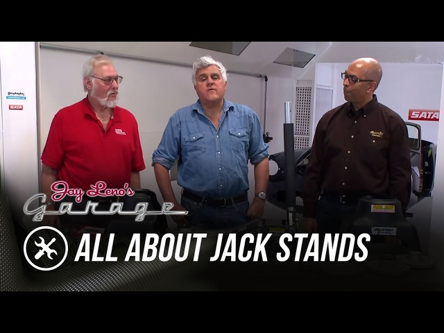 Skinned Knuckles: All About Jack Stands - Jay Leno's Garage