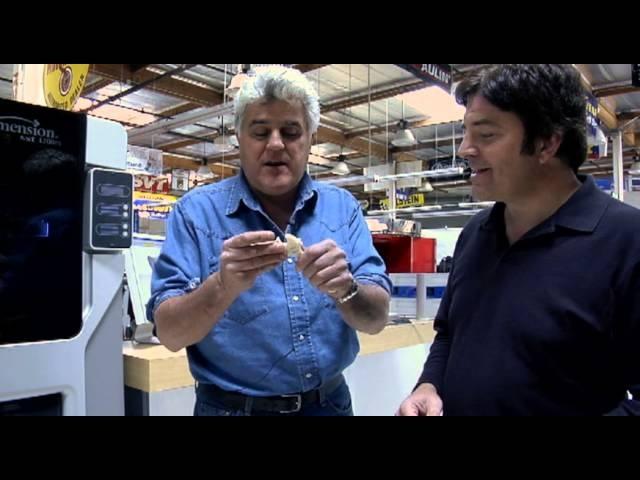 NextEngine's 3D Scanner -Jay Leno's Garage