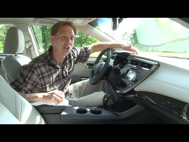 2013 <em>Toyota</em> Avalon Hybrid - Drive Time Review with Steve Hammes | TestDriveNow