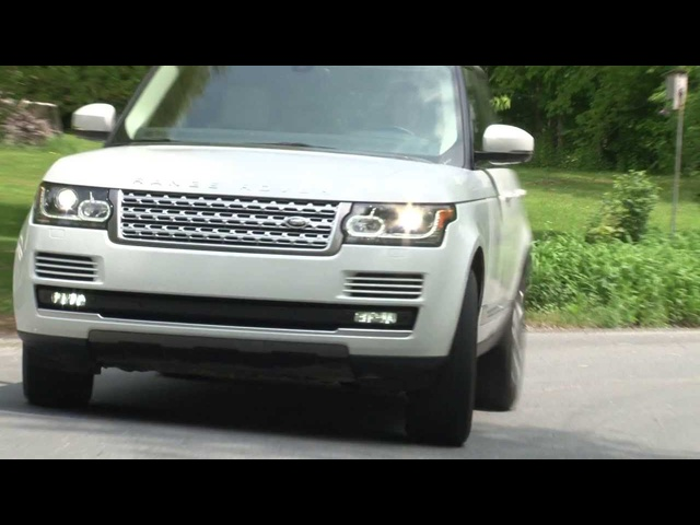 2013 Range Rover - Drive Time Review with Steve Hammes | TestDriveNow