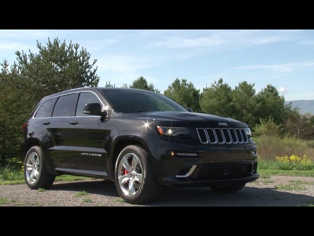 2014 <em>Jeep</em> Grand Cherokee SRT - TestDriveNow.com Review with Steve Hammes