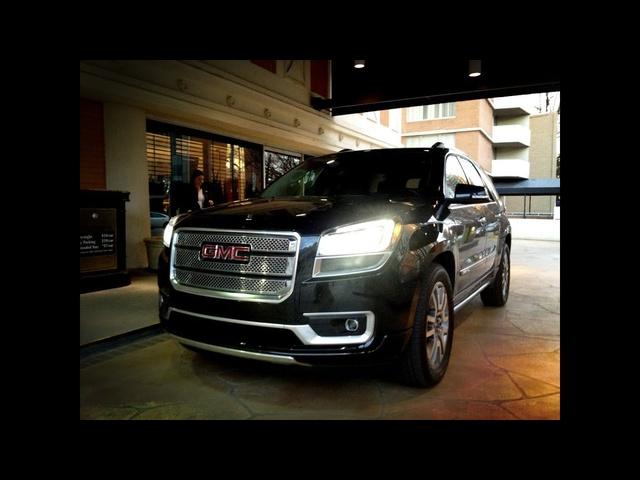 2013 GMC Acadia AWD Denali - Drive Time Review with Steve Hammes | TestDriveNow