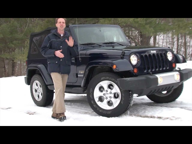2013 Jeep Wrangler - Drive Time Review with Steve Hammes | TestDriveNow