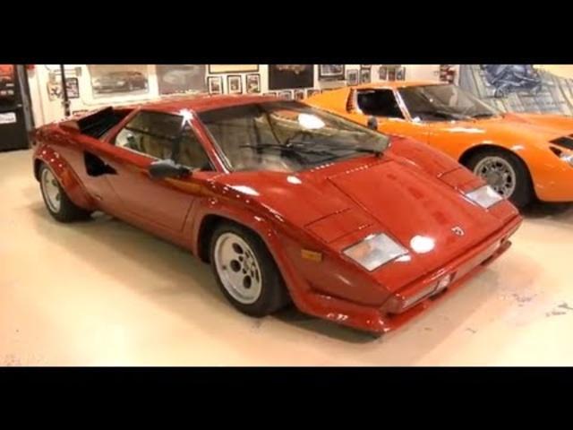 1986 Lamborghini Countach -Jay Leno's Garage