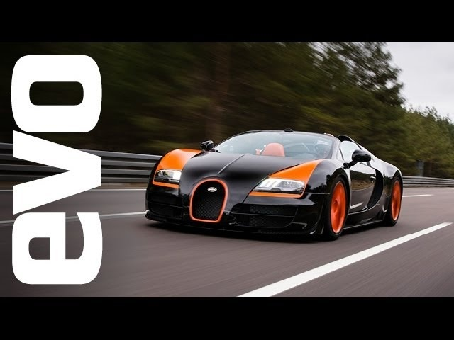 Bugatti Veyron Grand Sport Vitesse - world record top speed | evo DIARIES
