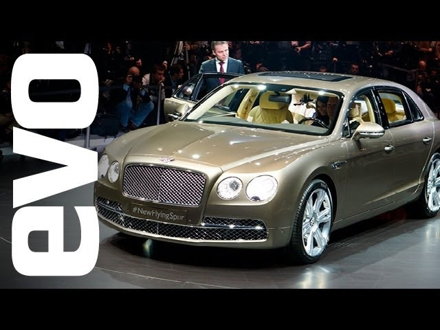 <em>Bentley</em> Flying Spur: Geneva 2013 | evo MOTOR SHOWS