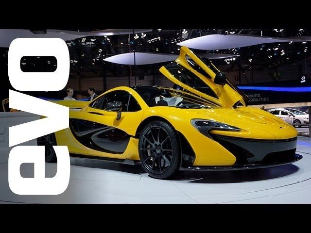 <em>McLaren</em> P1: Geneva 2013 | evo MOTOR SHOWS