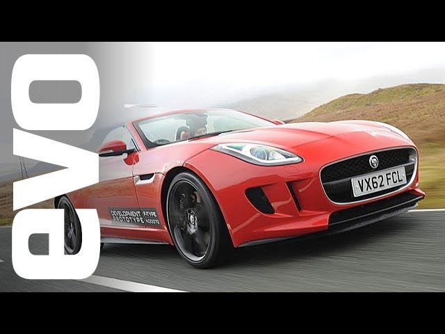 Jaguar F-type: Riding in the V6 and V8 S | evo DIARIES