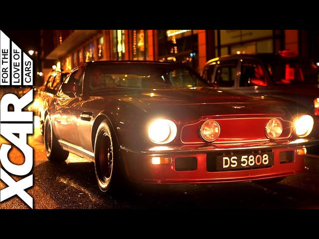 Rolls Royce, TVR and Aston Martin: Night Drive with the Classic Car Club - XCAR