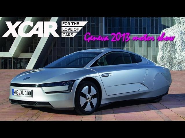 VW XL1, Geneva 2013 Motor Show -XCAR
