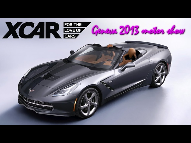 Corvette Stingray Convertible, Geneva 2013 Motor Show -XCAR
