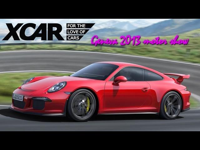 Porsche 911 GT3, Geneva 2013 Motor Show -XCAR