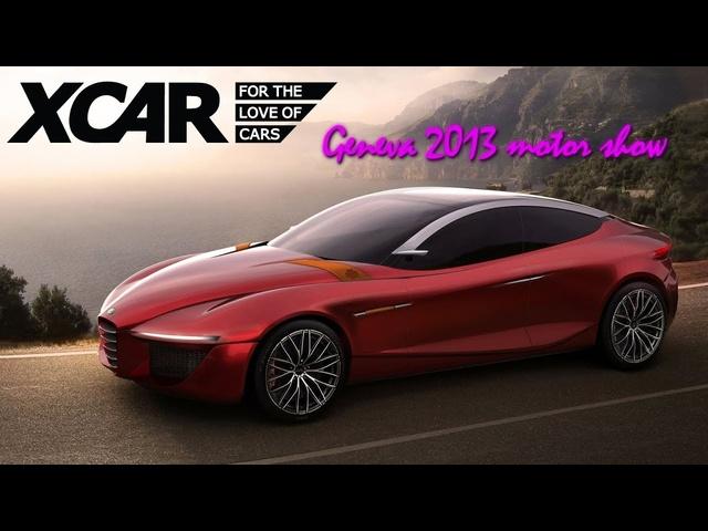 Alfa Romeo Gloria, Geneva 2013 Motor Show -XCAR