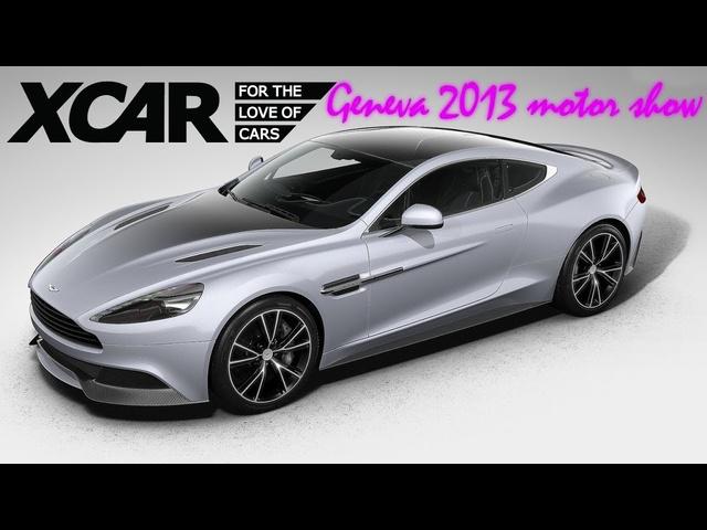 Aston Martin Vanquish Centenary Edition, Geneva 2013 Motor Show -XCAR