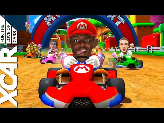 Mario Kart in Real Life -XCAR