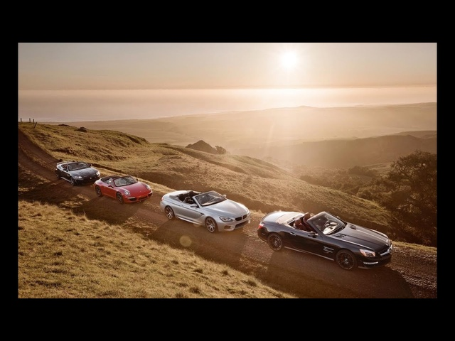 BMW M6 vs. Jaguar XKR-S, Mercedes-Benz SL63 AMG, Porsche 911 Carrera S - CAR and DRIVER